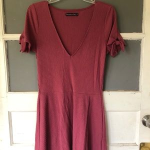 Cranberry red Abercrombie & Fitch dress